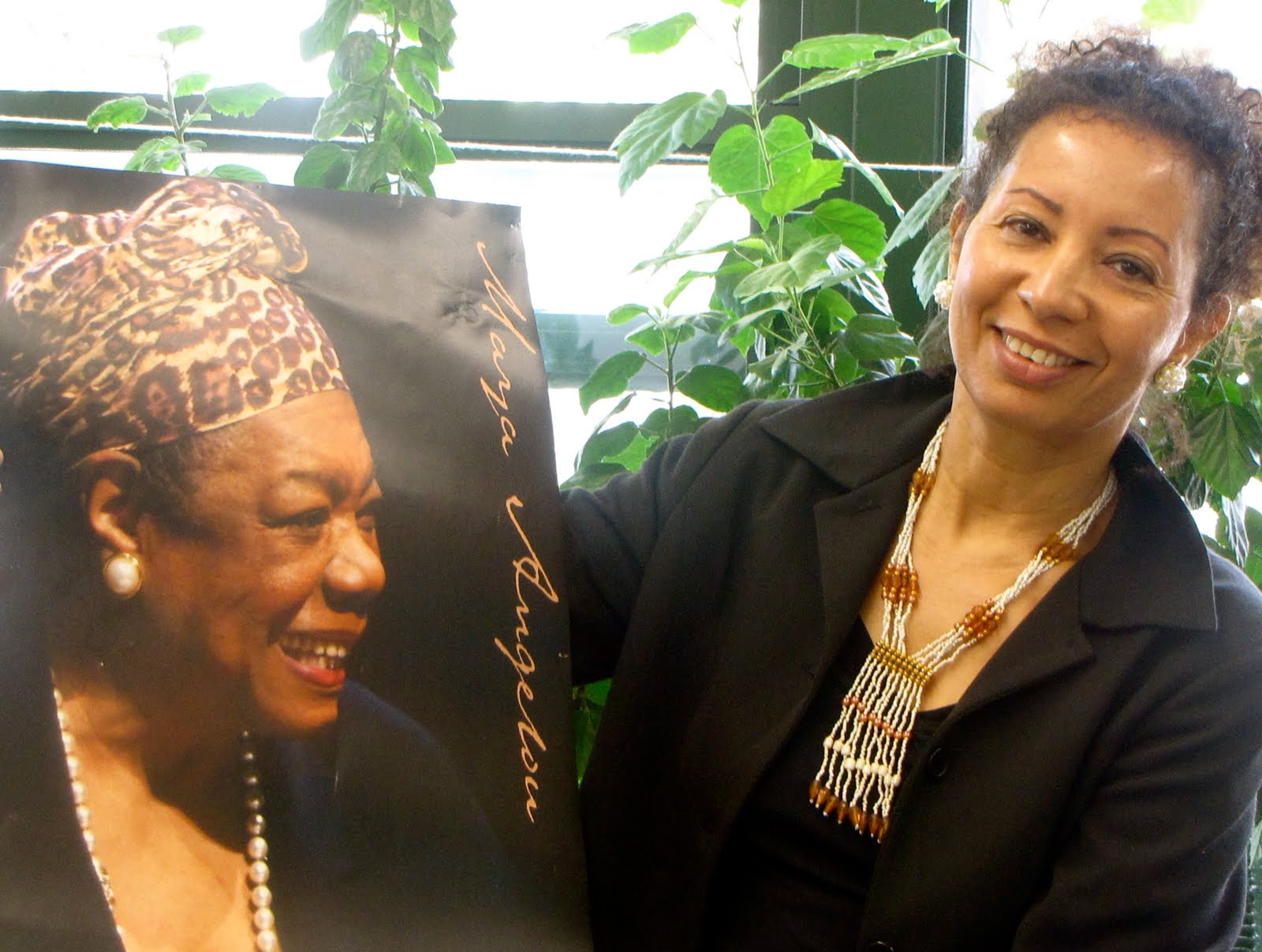 Phenomenal Woman Maya Angelou & Michèle Voltaire Marcelin